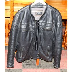 CMC SIZE LARGE LEATHER JACKET