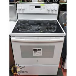"GE 30"" ELECTRIC SELF CLEANING CONVECTION RANGE."