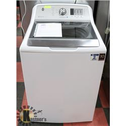 GE 5.3 CUFT STAINLESS STEEL CAPACITY WASHER.