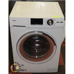 "HAIER 24"" 2.0CUFT FRONT LOAD WASHER/DRYER COMBO."