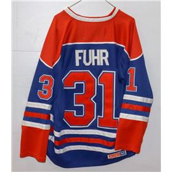 HOCKEY JERSEY FUHR-OILERS SIZE 48
