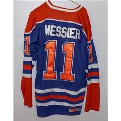 HOCKEY JERSEY MESSIER-OILERS SIZE 48