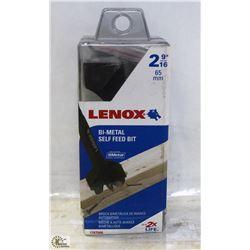 "LENNOX 2-9/16"" BI-METAL SELF FEED BIT - ON CHOICE"
