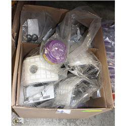 BOX OF NORTH HALF MASK AIR PURIFYING RESPIRATORS