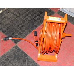 EXTENSION CORD WITH REEL. ON CHOICE