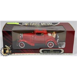 NEW ROAD SIGNATURE 1932 FORD 3 WINDOW COUPE