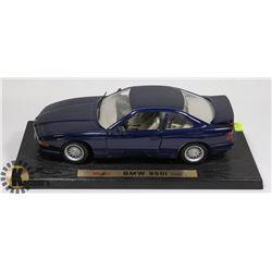 MAISTO BMW 850i - 1990 DIE CAST CAR - 1:18.