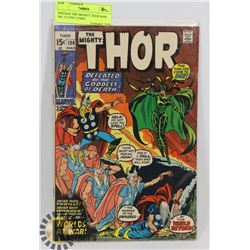 VINTAGE THE MIGHTY THOR MAR 186, 15 CENT COMIC