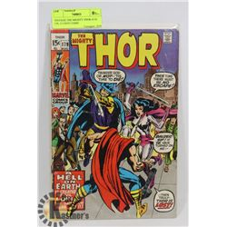 VINTAGE THE MIGHTY THOR AUG 179, 15 CENT COMIC