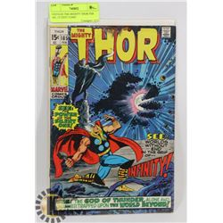 VINTAGE THE MIGHTY THOR FEB 185, 15 CENT COMIC