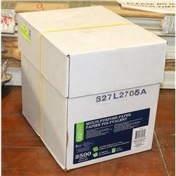 """CASE OF 8.5X11"""" MULTI PURPOSE PAPER"""