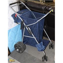 TOMMY BAHAMA ALL TERRAIN BEACH CART WITH