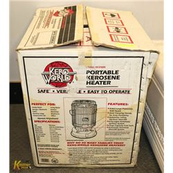 NEW KEROWORLD KEROSENE HEATER
