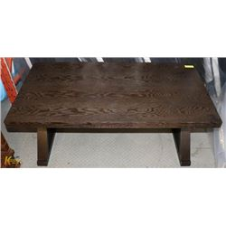"WOOD COFFEE TABLE 47 X 25 X 20""H"