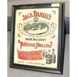 JACK DANIELS TENNESSEE HOLLOW FRAMED PICTURE