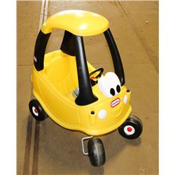 LITTLE TIKE PLASTIC CAR