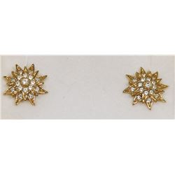 PAIR OF VINTAGE D'ORLAN CLIP ON EARRINGS W/ A