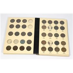 BOOK OF CANADA  1 CENT COINS -111 COINS INSIDE