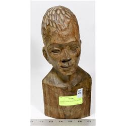 ANTIQUE AFRICAN HEAD CARVING ANGOLA