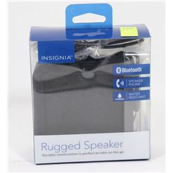 INSIGNIA RUGGED WATER RESISTANT BLUETOOTH