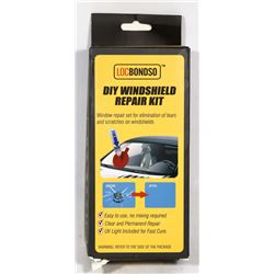 NEW WINDSHIELD REPAIR KIT