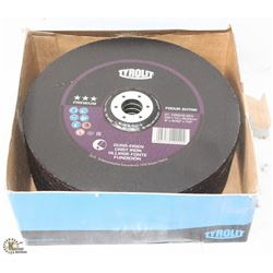 "CASE OF 9"" TYROLIT GRINDING DISCS - ON CHOICE"