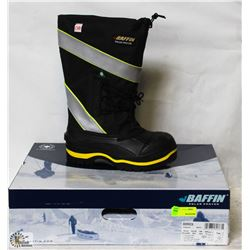BAFFIN STEEL TOE RUBBER BOOTS SIZE 10
