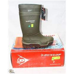 NEW DUNLOP STEEL TOE PUROFORT BOOTS SIZE 6