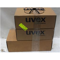3 CASES OF ASSORTED WORK GLASSES - ON CHOICE