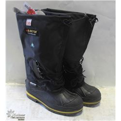 PAIR OF BAFFIN STEEL TOE RUBBER BOOTS SIZE 6