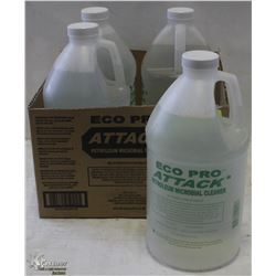 CASE WITH 4 BOTTLES ECO-PRO ATTACK PETROLEUM