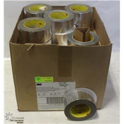 CASE OF 3M ALUMINUM FOIL GLASS CLOTH TAPE