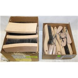 2 BOXES OF ASSORTED WIRE BRUSHES