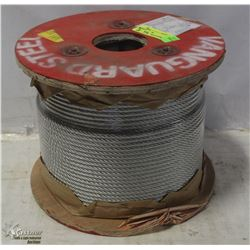 """500FT ROLL 1/4"""" STEEL CABLE"""