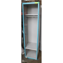 3-COMPARTMENT CUSTOM COMMERCIAL LOCKER