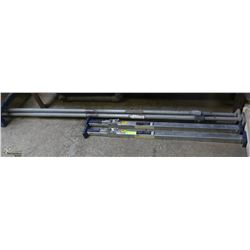 2 PAIRS OF LOGISTIC BARS
