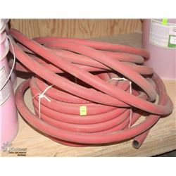 "TWO ROLLS OF 3/4"" AIR HOSE, 200 PSI"