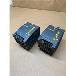 (2) Power One LWN 1601-6 Convert Select AC-DC/DC-DC Converter