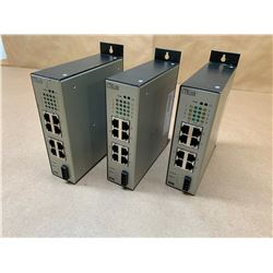 (3) Contemporary Controls EIS8-100T Ethernet Switching Hub