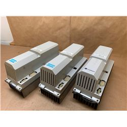 (3) Atlas Copco/in motion 3HAB8101-3 Servo Drives *See Pics for Full Part Numbers*