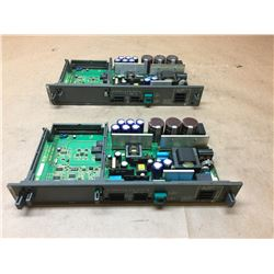 (2) Fanuc A16B-2203-0370/13E Power Supply Module