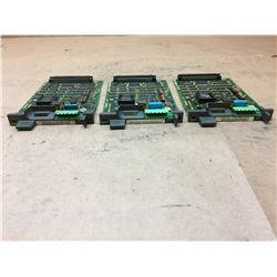 (3) Fanuc A20B-8001-0700/02B Interface Card
