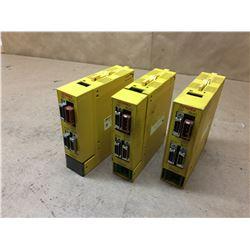 (3) Fanuc A03B-0819-C011 AIF01A Interface Modules