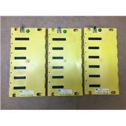 (3) Fanuc A03B-0819-C002 Base Unit