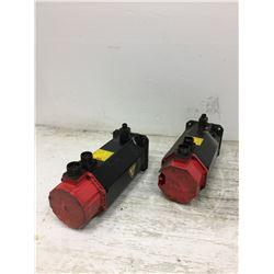 (2) Fanuc A06B-0163-B175 Servo Motor