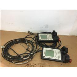 (2) ABB 3HNE 00313-1 Teach Pendant