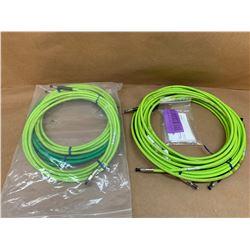 Lot of Fiber Optic Cables