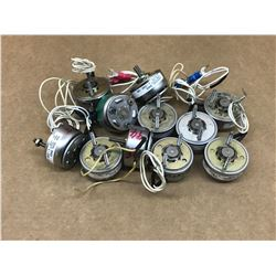 LOT OF MISC. ROTARY SOLENOID ACTUATOR *SEE PICS FOR PART #*