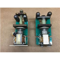 (2) ROSS ENGINEERING EA25-NC-40-0-0 & EA12-N0-20-1-0 HIGH VOLTAGE RELAY