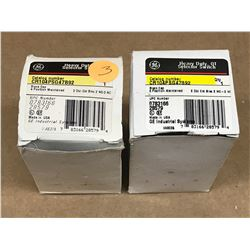 (2) GE CR104PSG47B92 HEAVY DUTY OT SELECTOR SWITCH